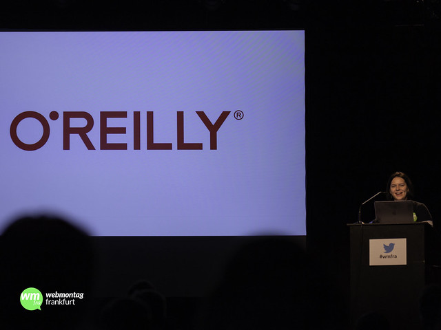 """#wmfra101, """"Classic"""": (Bücher-)Sponsor O'Reilly"""