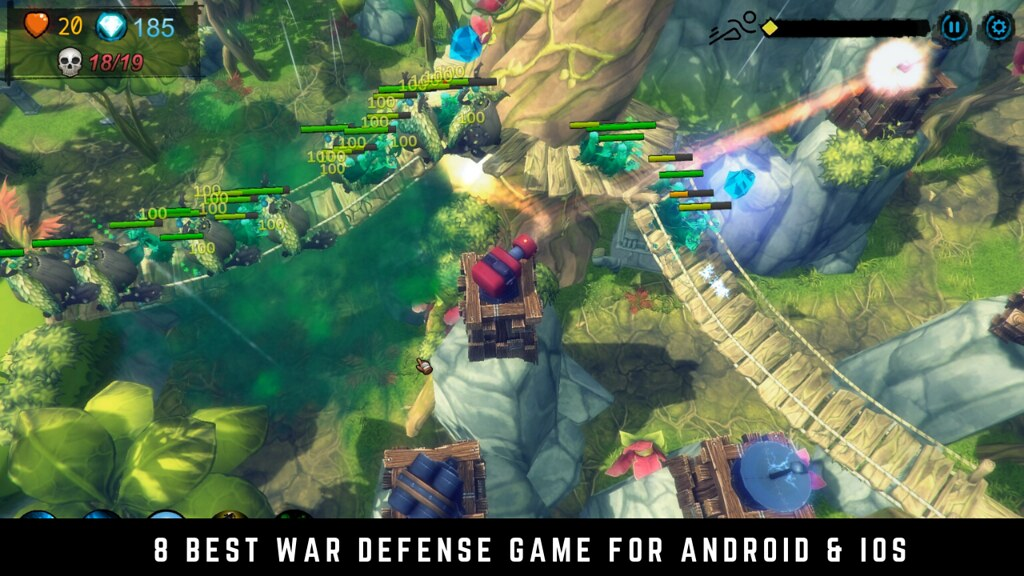 8 Best War Defense Game for Android & iOS