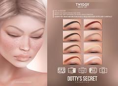 Dotty's Secret - Twiggy - Brow Set @ Vintage Fair
