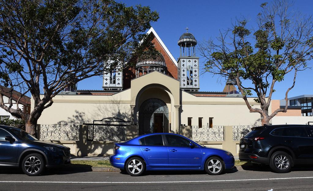 Coptic Orthodox Church, Punchbowl, Sydney, NSW.