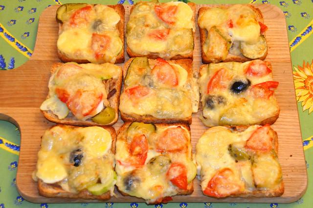 Juni 2020 ... Bunter Toastbrote, vegetarisch ... Brigitte Stolle