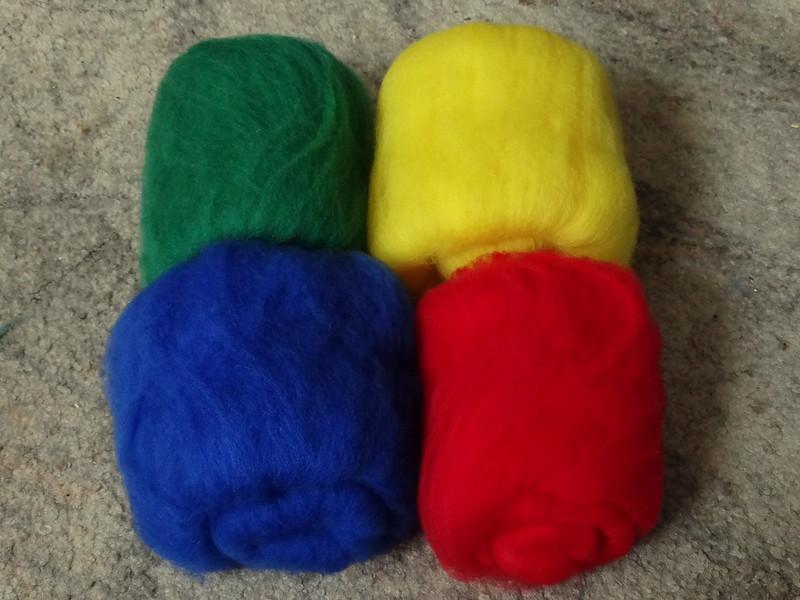 Circus Clown (Dyed Polwarth)