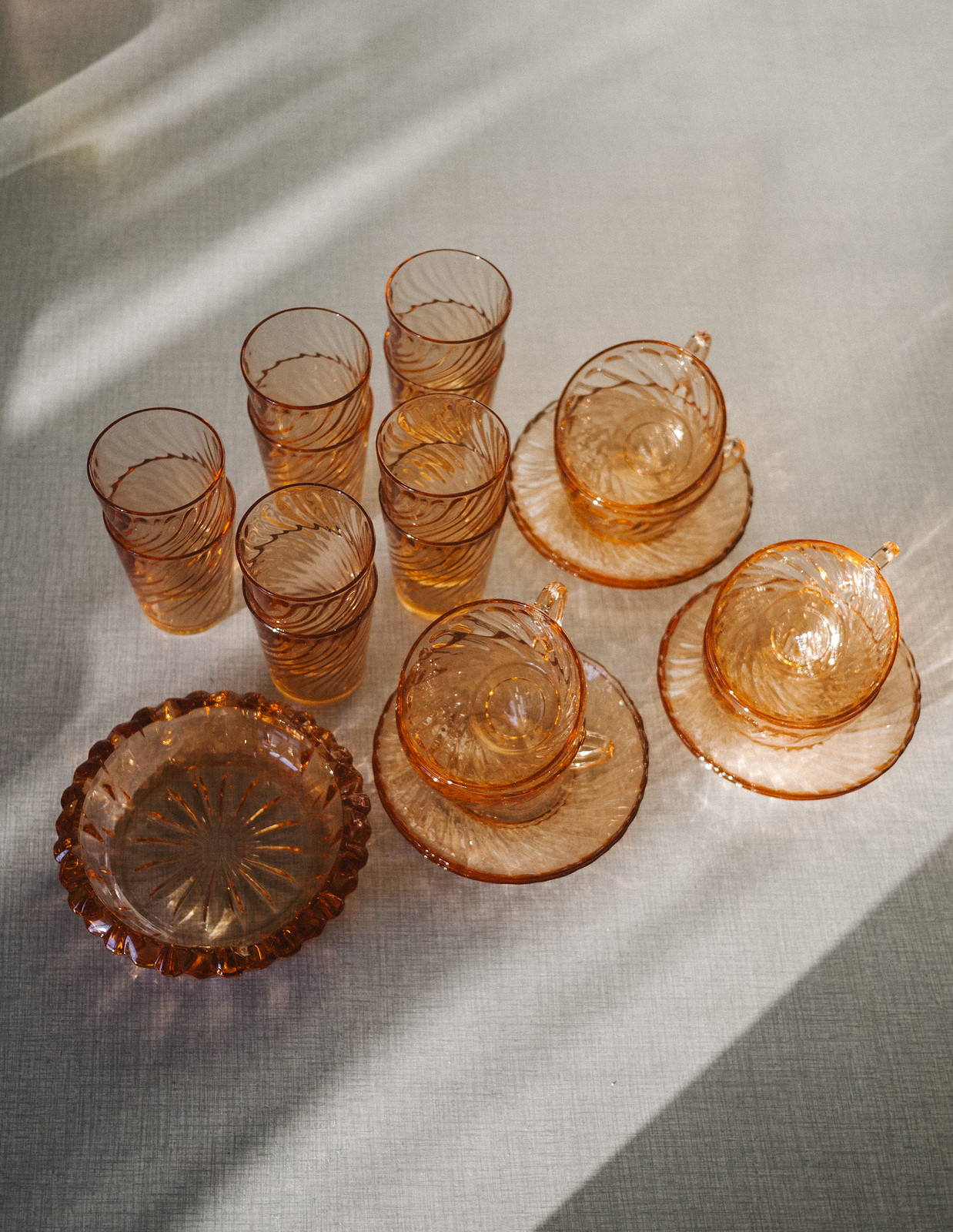 rosa glas