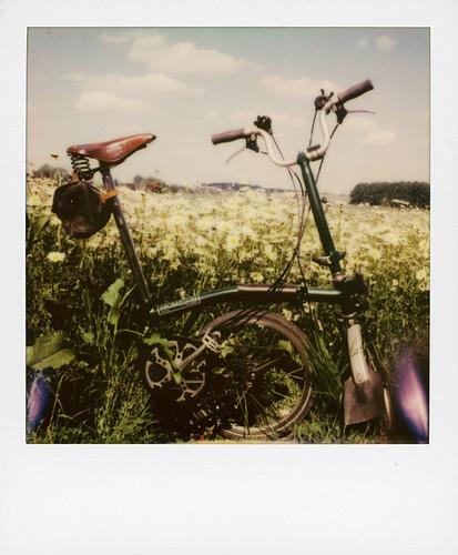 Biking ...