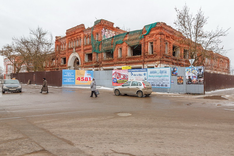 Руины Гостиного двора (до обрушения)