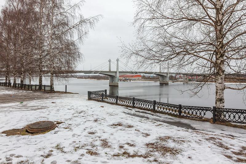 Волга в Кимрах