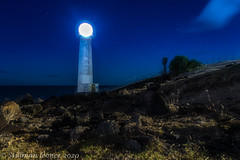 Phare de Vieux-Fort by night
