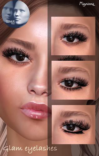 glam lashes x Genus (GIFT)