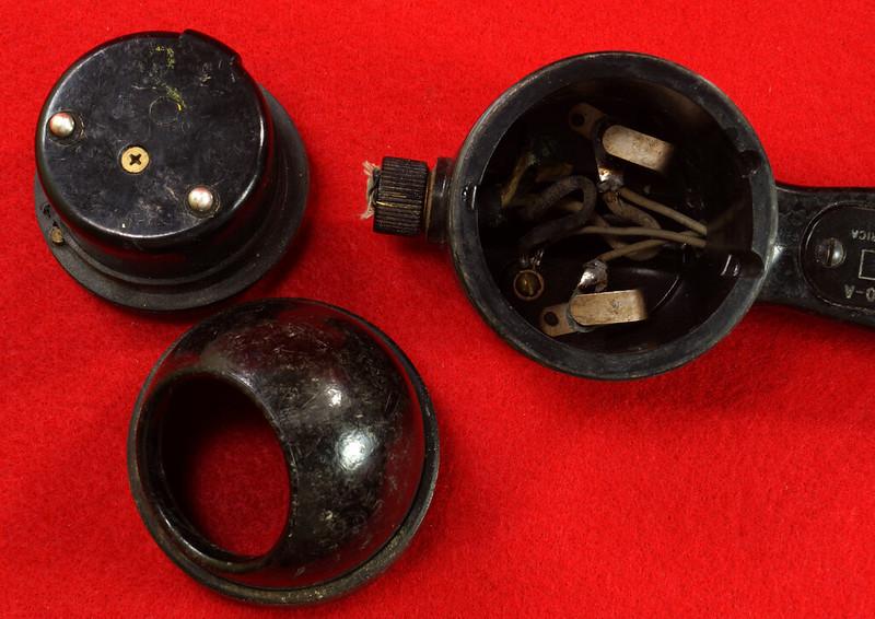 RD21859 Vintage RCA US NAVY Handset Ship Phone Radio Corp of America Telephone MI-2040-A DSC07869