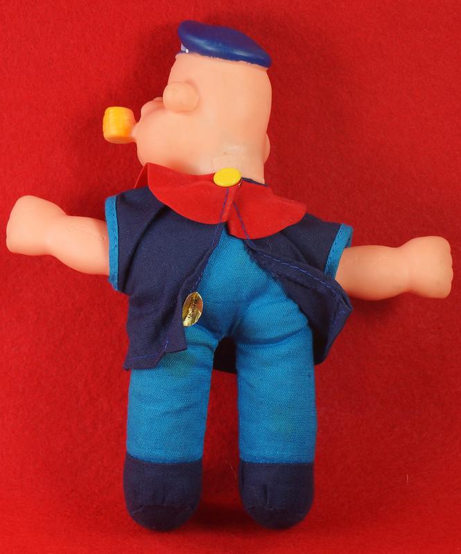 RD22249 Vintage Popeye Doll 1977 UD Co. Hong Kong 1977 7 inch DSC07818
