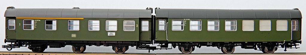 ROCO und BRAWA Umbauwagen 3yg