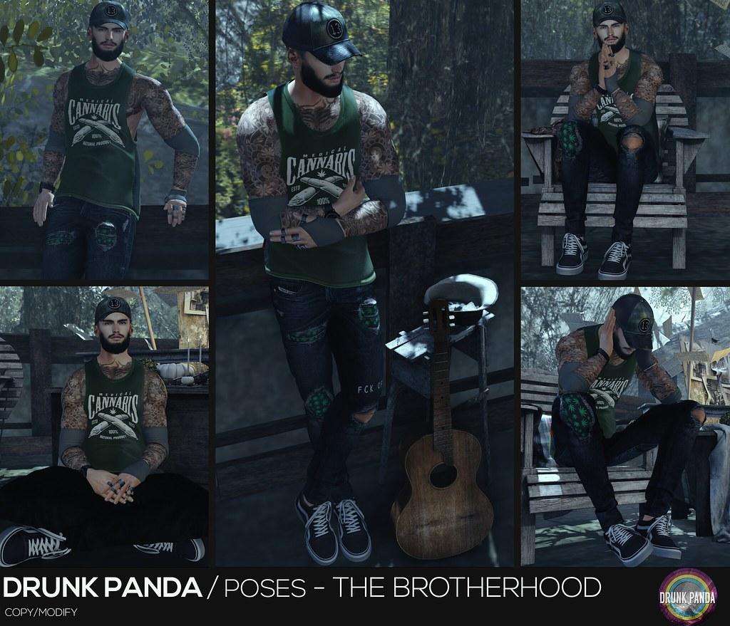Drunk Panda / Poses – TheBrotherhood
