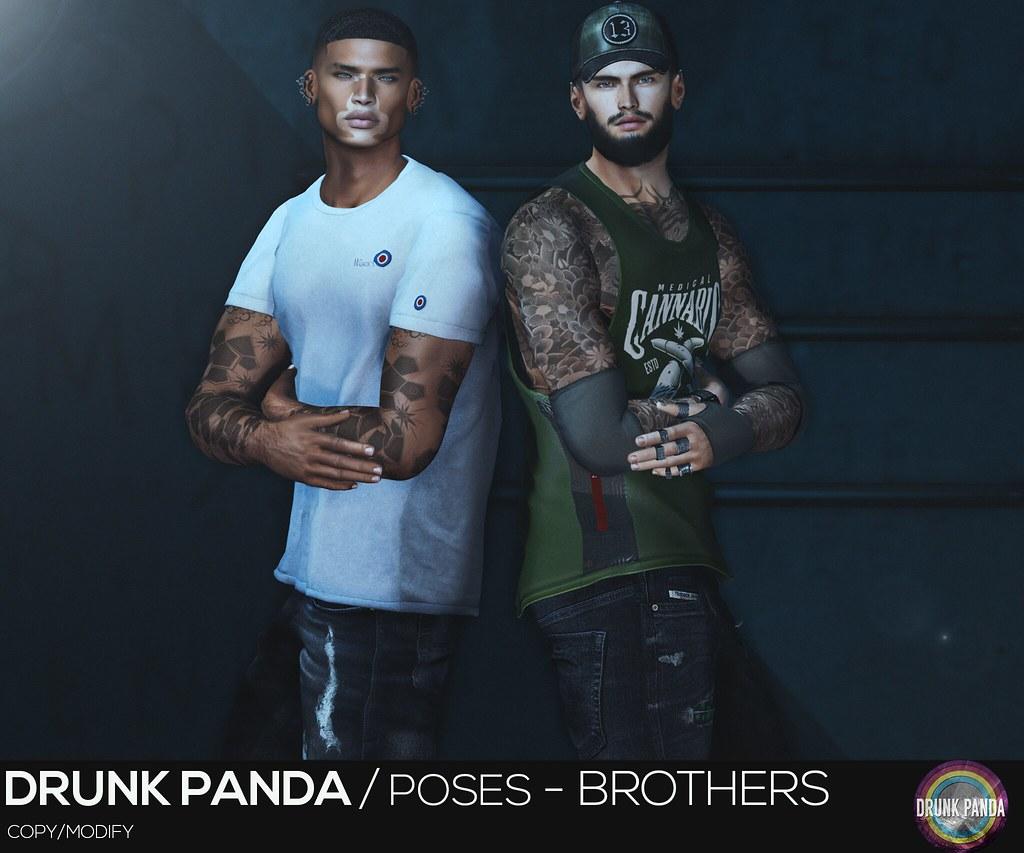 Drunk Panda / Poses – Brothers