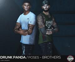 Drunk Panda / Poses - Brothers