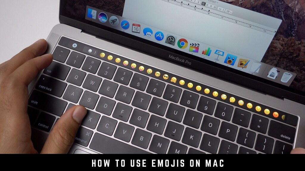 How to use emojis on Mac