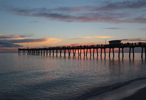 sunset gulfofmexico water venicefl ladaphoto