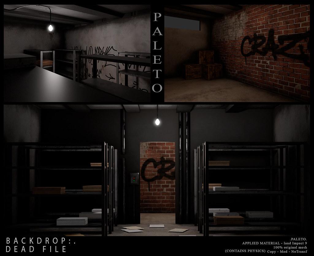.PALETO. Backdrop:. DEAD FILE