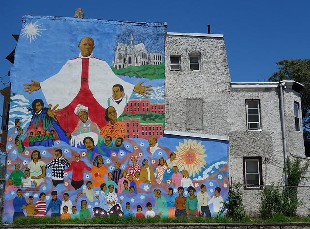 Mural, Strawberry Mansion, Philadelphia