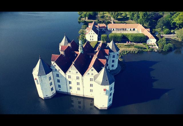 Mavic Mini: Schloss Glücksburg 31.05.2020 (edit)