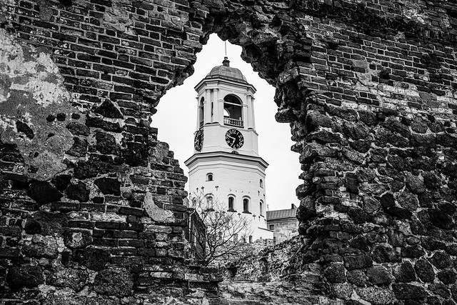 Ruins of the Old Cathedral of Vyborg