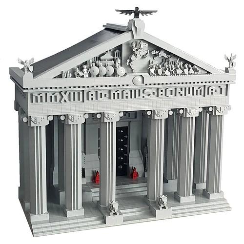 Imperial Senate Building.