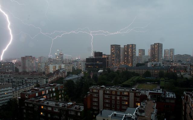 Storm in Paris