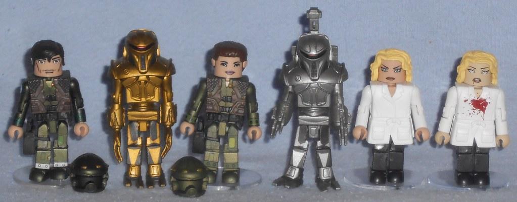MiniMates - More Battlestar Galactica