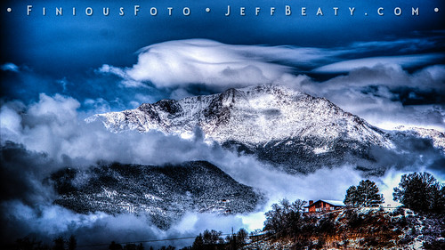 Pike's Peak After Spring Snow Redux | by Finious Foto