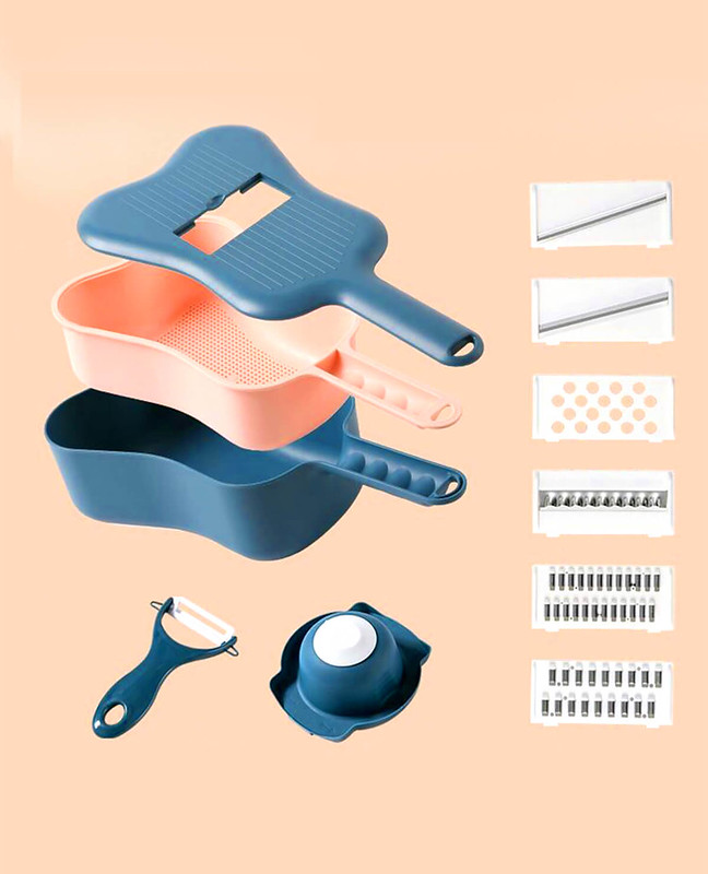 Ukulele 10 Pieces food Slicer Grater and Peeler | CrazyBee