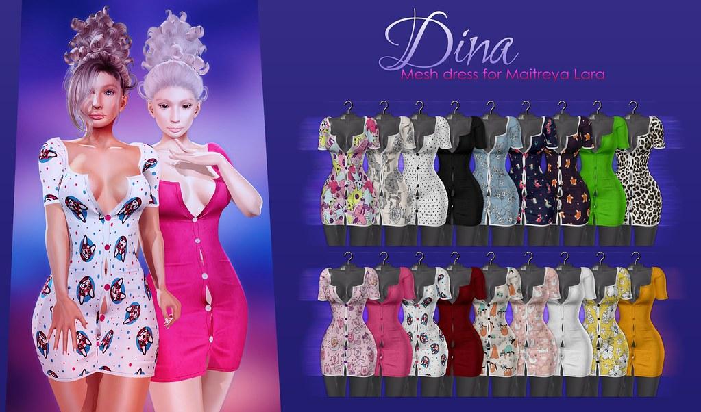 MAAI Dina dress + GIVEAWAY