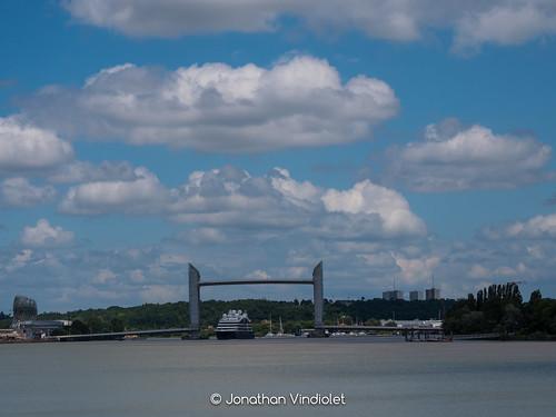 LE BOUGAINVILLE (Ponant) - Port de Bordeaux - 14 juin 2020