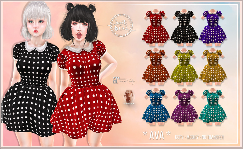 Ava Dress FatPack – Sweet Lies Original