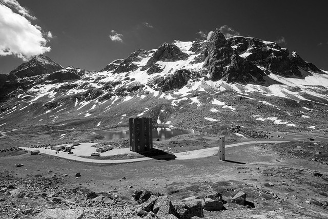 Julierpass monochrome version