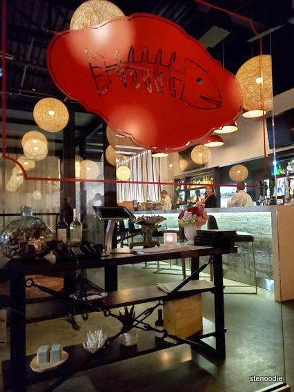 Fishbone Aurora restaurant logo
