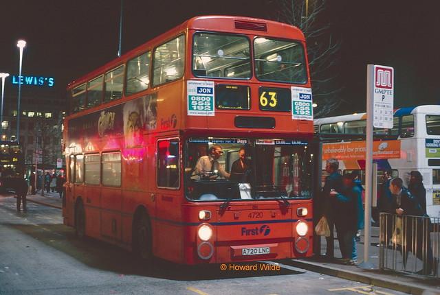 First Manchester 4720 (A720 LNC)