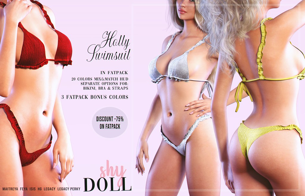 ShyDoll - Holly Swimsuit  @ACCESS