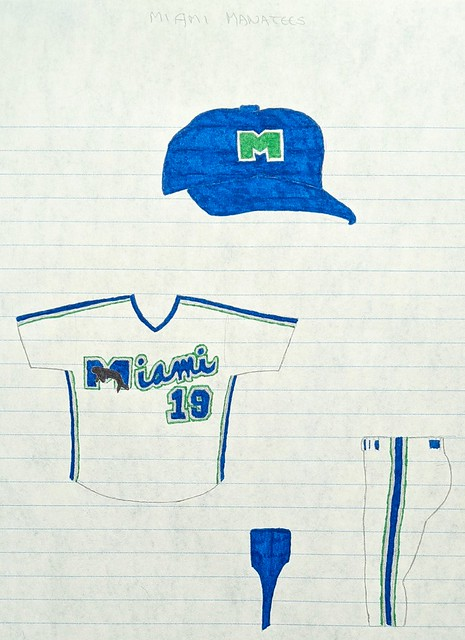 Kary Klismet Baseball Uniform Designs