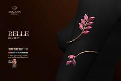 Romazin - Bracetet <Belle> - Gems