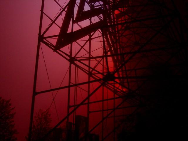 Roanoke Star on a foggy night [01]