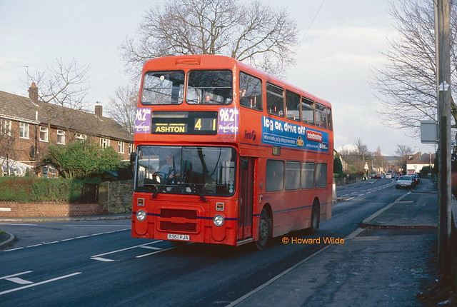 PMT (First Pennine) B351 PJA on loan from First Manchester