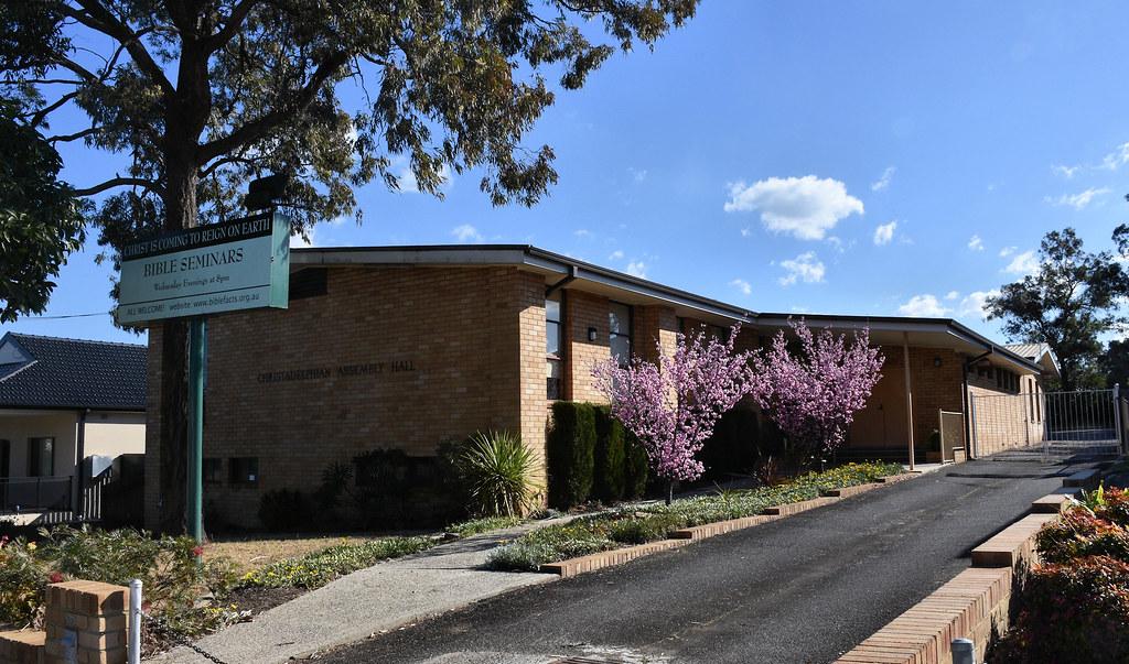 Christadelphian Assembly Hall, Puchbowl, Sydney, NSW.