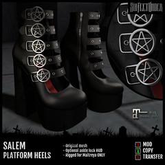 Six Feet Under - Salem Platform Heels