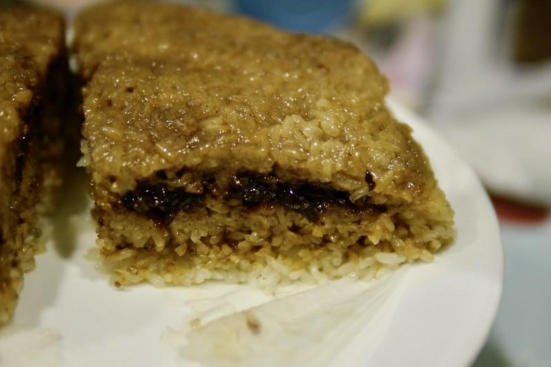 黑糖綠豆米糕