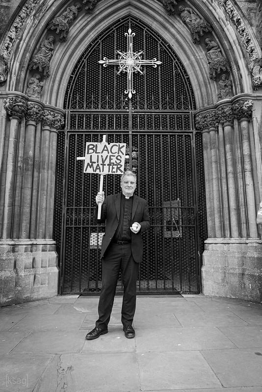 Black Lives Matter Protest, Bristol, UK
