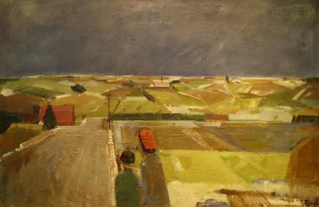 Svend Engelund (1908-2007) - Winter landscape - 1951