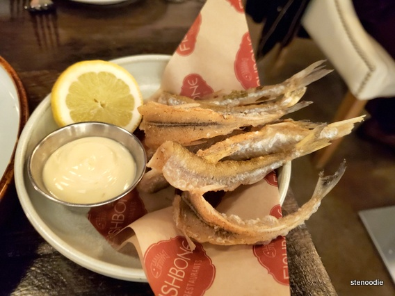 Crisp Fried Smelts