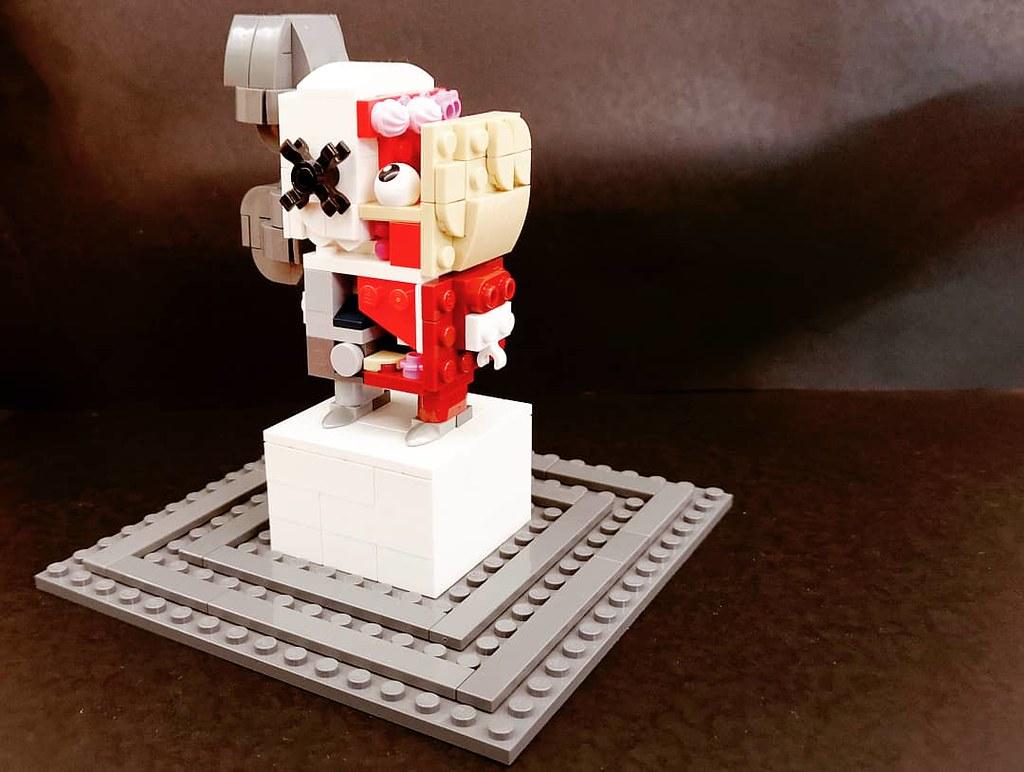 Originally planned for JBF2020!!  本來為了JBF2020準備其之一!!  #brickheadz #kaws #jbf2020 #kawsart #kawscollection #kawssculpture #BrianDonnelly #kawscompanion #lego #legomocs #legomoc #legos #legobricks #bricks #legophoto #legoart #moc #legocreation #legostagram
