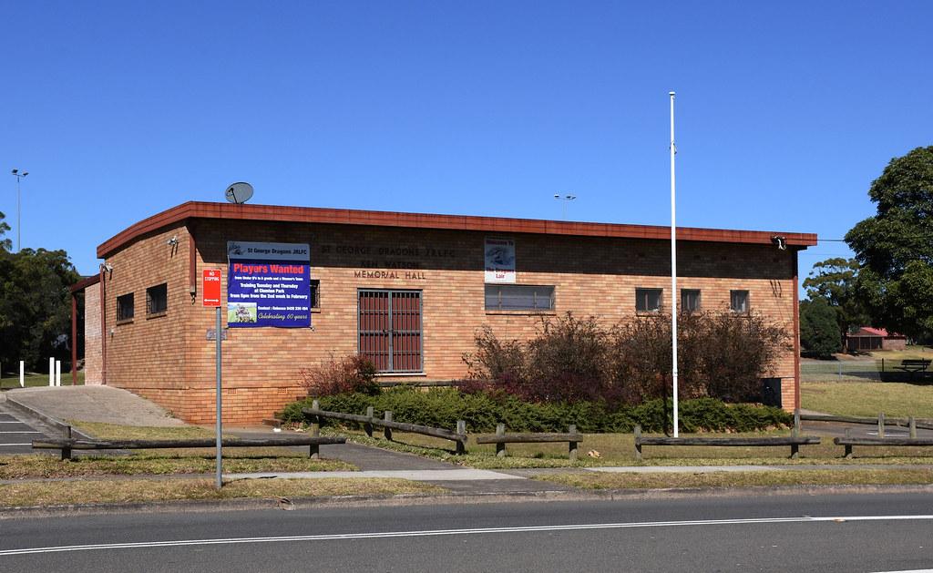 Ken Watson Memorial Hall, Kingsgrove, Sydney, NSW.