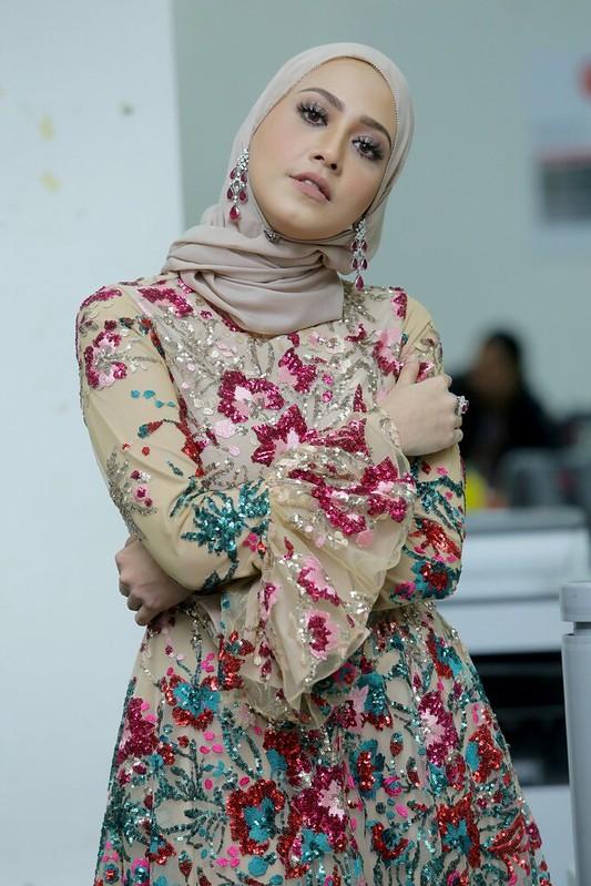 Fathia Latiff Kembali Bertudung Sebelum Ramadan Lalu