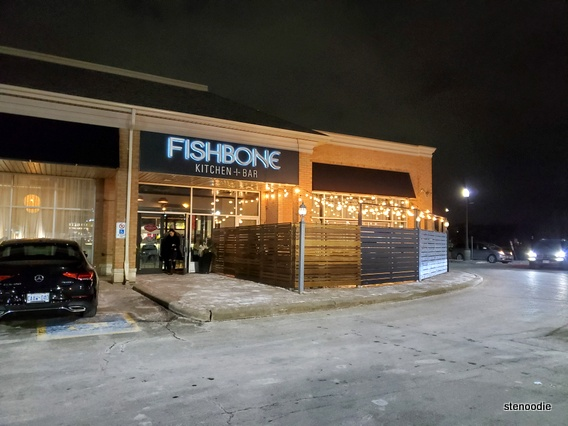 Fishbone Kitchen + Bar Aurora storefront
